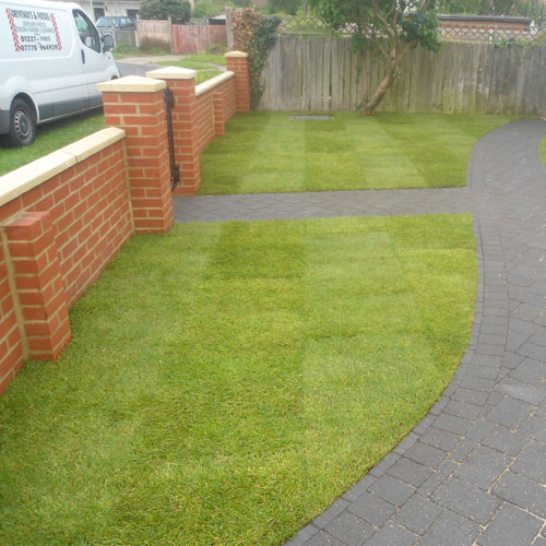 Turfing by Driveways & Patios Ltd